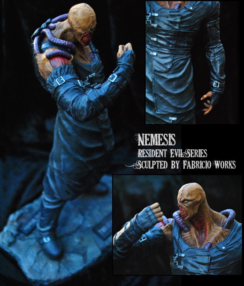 Fabricio Works- Nemesis Resident Evil series by FabricioWorks