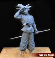 Goku- Dragon Ball Z diorama by FabricioWorks