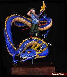 Dragon Ball Z diorama-Fabricio Works