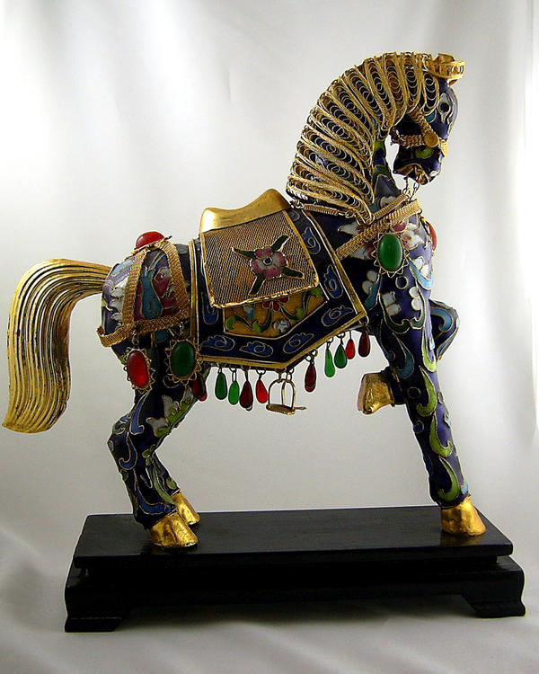 Gilded Horse Stock by chamberstock