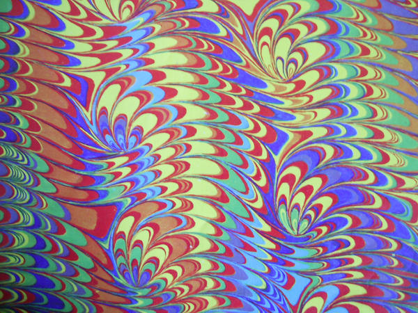 Marbled Paper Texture