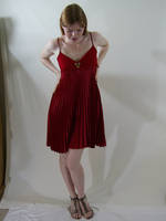Short Red Dress 2 by chamberstock