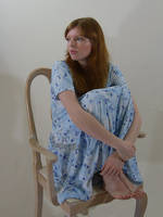 Slouchy Blue Dress 2 by chamberstock