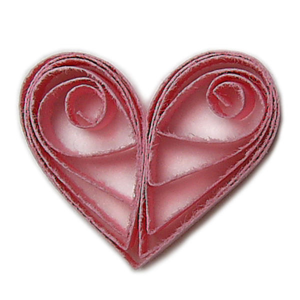 Quilled Heart Stock by chamberstock