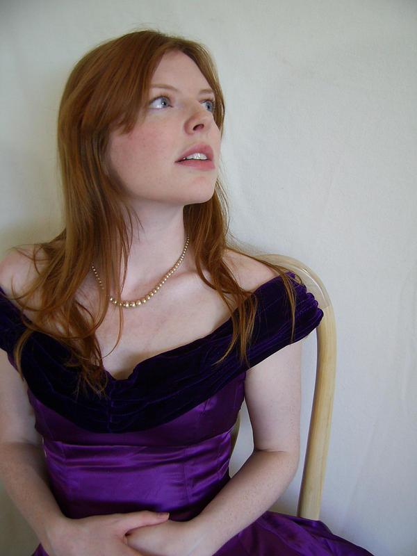 Purple Portrait 2 by chamberstock