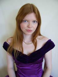 Purple Portrait 3 by chamberstock