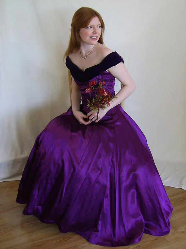 Seated in Purple 1 by chamberstock