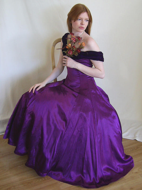 Seated in Purple 4