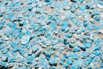 Mosaic Texture in Turquoise
