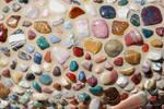 Mosaic of Multicolored Stones