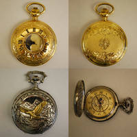 Pocket Watch Stock by chamberstock