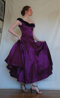 Purple Dress Stock 2 by chamberstock