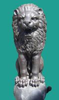 Lion Statue Cut Out