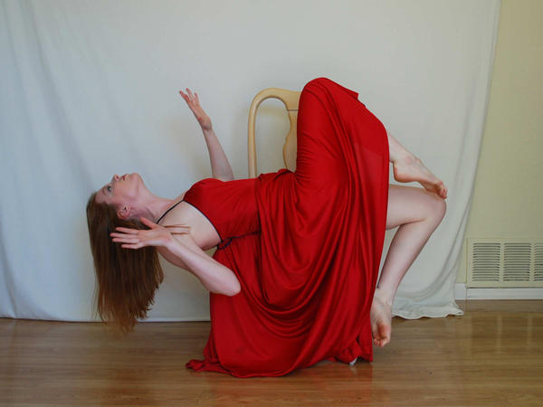 Red Dress Stock 7