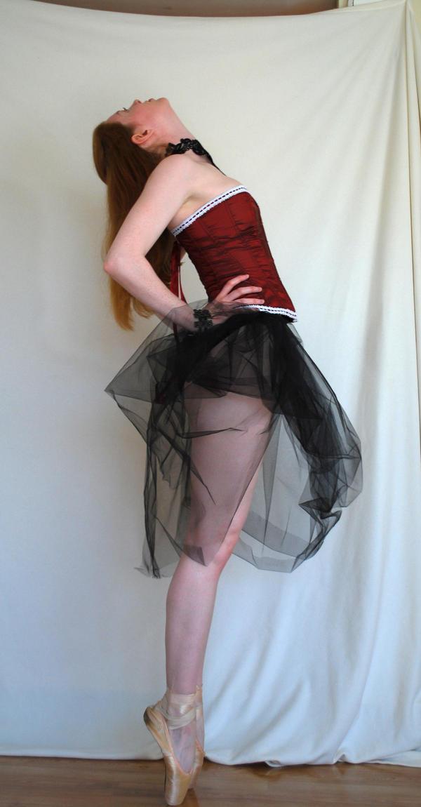 Gothic Ballerina Stock 2 by chamberstock