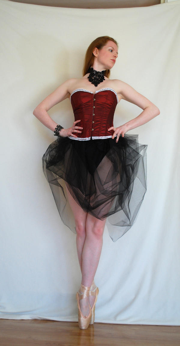 Gothic Ballerina Stock 6 by chamberstock