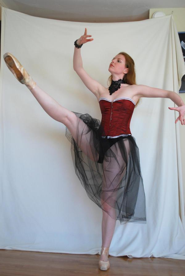 Gothic Ballerina Stock 7 by chamberstock