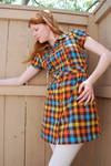 Plaid Dress Stock 12