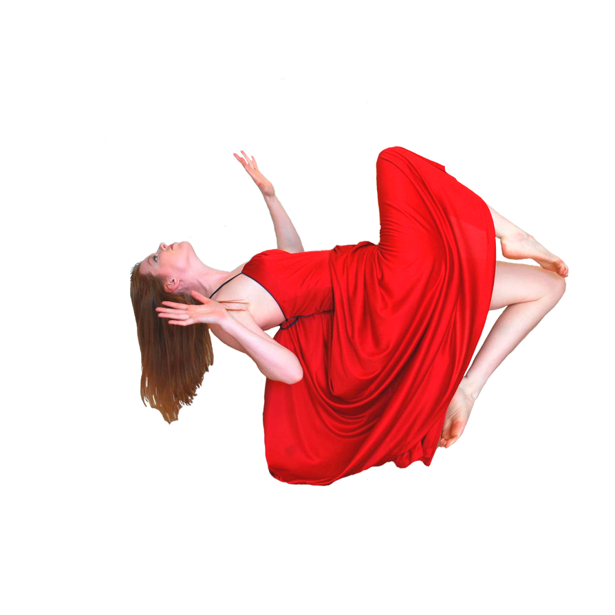 Falling or Flying Stock Cutout by chamberstock