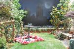 Garden Background stock