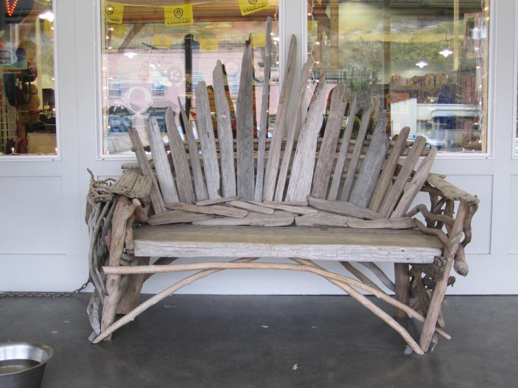 category redwood driftwood bench salvage furniture legged making