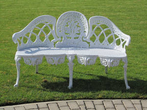 White Bench Stock 2