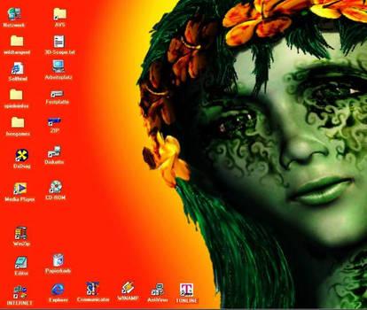 Spring pixi remixed desktop by el-vis