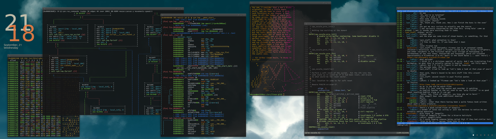 Arch Linux XFCE Awesome WM 2.0 by int001h