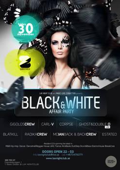Black n White Affair Party