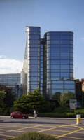 A glass building in Bristol