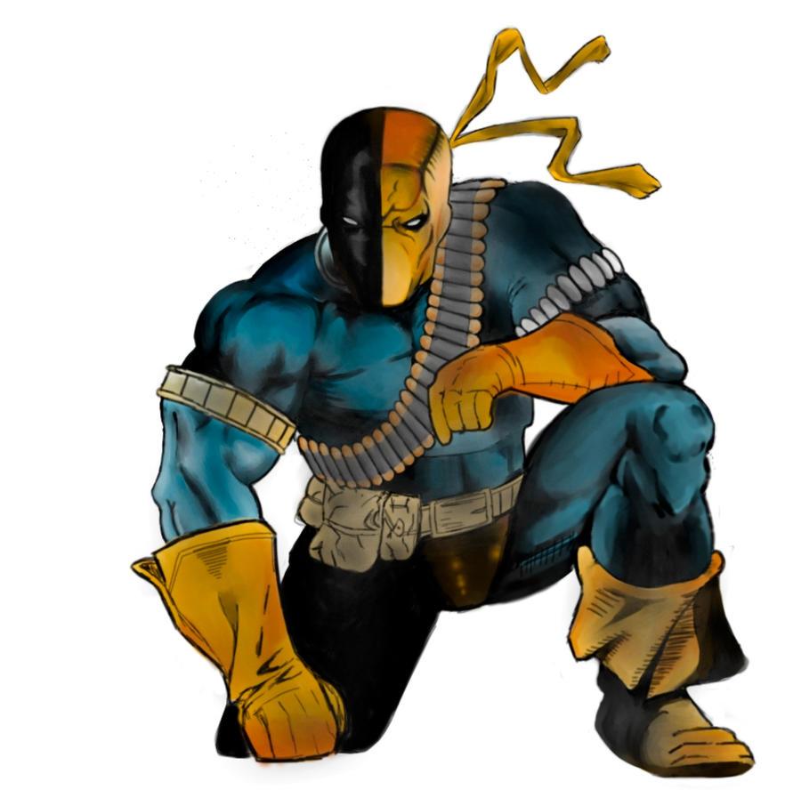 Slade (Deathstroke) by Randombean28