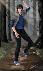 [Art Trade] Erik in da forest