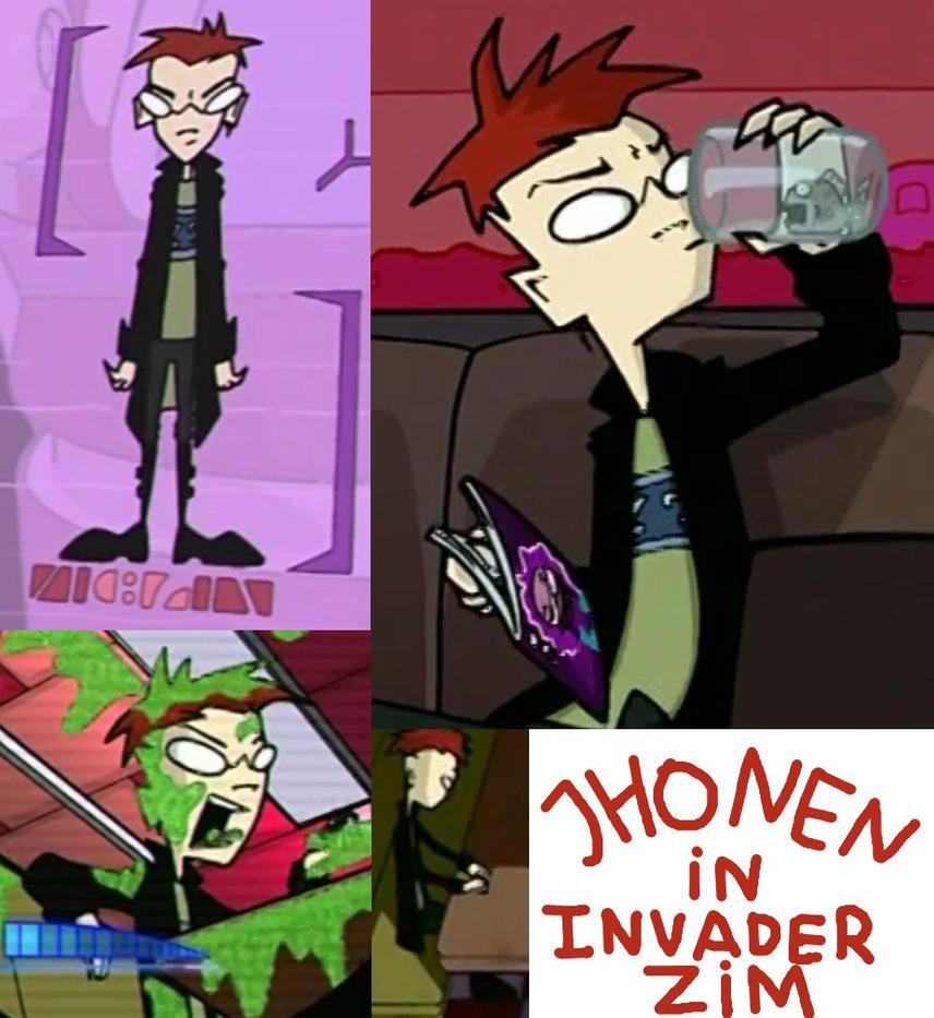 Jhonen Vasquez in Invader Zim by Mii-riam on DeviantArt