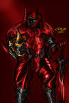 Rakion Cane Swordsman (COLORED) by ZethHolyblade