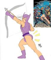 The Hawkeye Initiative by Ninjasmacks