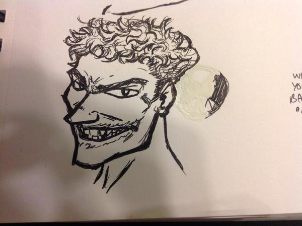 Work doodle Joker by Ninjasmacks