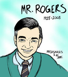 Mr Rogers by Ninjasmacks