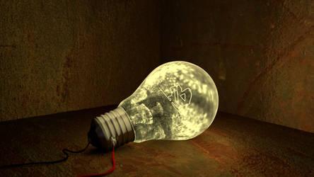 B-Art - Lightbulb by littlelightcz