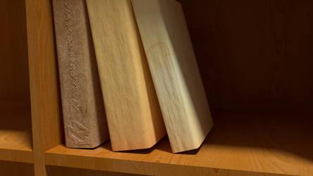 B-Art - The Book Never Opened by littlelightcz