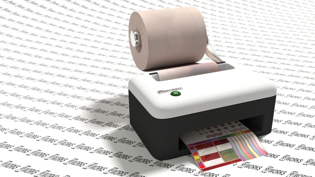 Toilet Paper Printer by littlelightcz