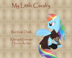 My Little Cavalry-Rainbow Dash by Nimbostratus