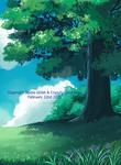 Studio Ghibli Scene2 by CrazyForSketching90