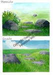 Open Field by CrazyForSketching90