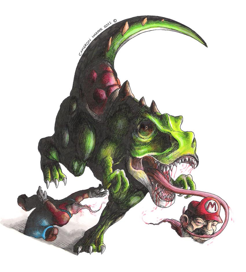 Realistic Yoshi Yoshi IRL 2 by Cameron...
