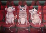 Cinemice by CameronHarperArt