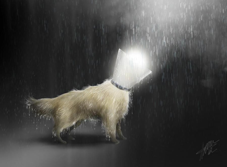 My dawg (iPad) by CameronHarperArt