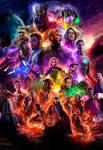 Avengers 4 / Avengers Endgame poster