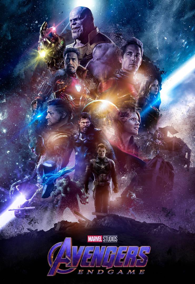 Avengers Endgame Poster By Ralfmef On Deviantart