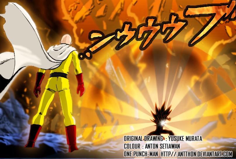 One Punch-man - Saitama VS Lord Boros by antthon on DeviantArt
