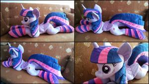 Lifesize Twilight Sparkle plush with socks